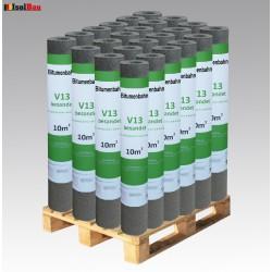 Dachpappe V 13 besandet mit Glasvlieseinlage 240 m² Dachbahn Glasvlies Bitumen