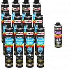 Dämmstoffkleber PROFI Klebeschaum 750 ml Perimeterkleber Kleber für Dämmung