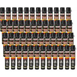 Isolbau Montageschaum 48 Dose 750 ml Bauschaum 1K PU Schaum mit Aussprührohr HQ+