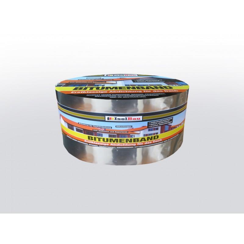 Bitumenband 100 mm x 10 m Rot Dachreparatur Aluminiumband Aluband Dichtband