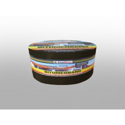 Bitumenband 75mm x 10 m shchwarz Dachreparatur Aluminiumband Aluband Dichtband
