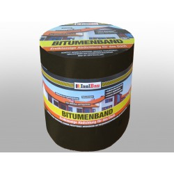 Bitumenband 300mm x 10 m shchwarz Dachreparatur Aluminiumband Aluband Dichtband