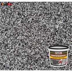 Mosaikputz Buntsteinputz BP 30 (schwarz, grau, weiss) 5 kg Fertigputz Sockelputz
