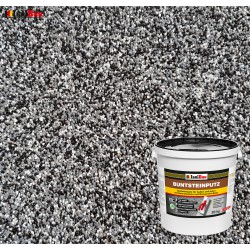 Mosaikputz Buntsteinputz BP 30 (schwarz, grau, weiss) 20 kg Fertigputz Sockelputz