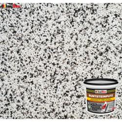 Mosaikputz Buntsteinputz BP 10 (weiss, grau, schwarz) 5 kg Fertigputz Sockelputz