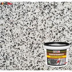 Mosaikputz Buntsteinputz BP 10 (weiss, grau, schwarz) 15 kg Fertigputz Sockelputz