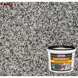 Mosaikputz Buntsteinputz BP 20 (grau, weiss, schwarz) 15 kg Fertigputz Sockelputz