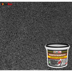 Mosaikputz Buntsteinputz BP 100 (anthrazit) 10 kg Fertigputz Sockelputz