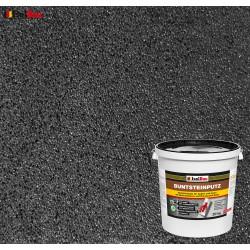 Mosaikputz Buntsteinputz BP 100 (anthrazit) 20 kg Fertigputz Sockelputz