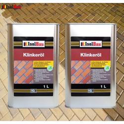 Natürliches Klinkeröl 2 L Ziegelöl Klinker Öl Reiniger , für innen und außen
