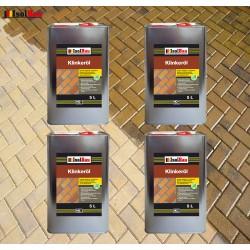 Natürliches Klinkeröl 20 L Ziegelöl Klinker Öl Reiniger , für innen und außen