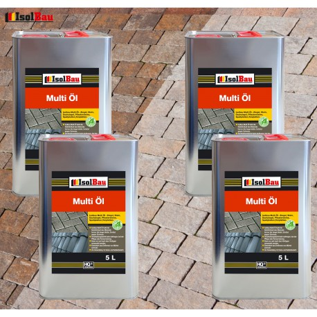 Steinöl 5 L Natürliches MultiÖl Pflasteröl Schieferöl Imprägnierung Ziegelöl