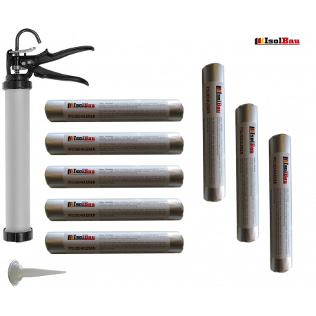 Folienkleber – 600 ml Schlauchbeutel + Schlauchbeutelpistole Auspresspistole SET