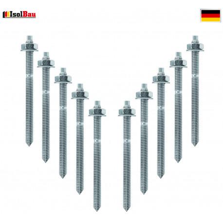 10 Siebhülsen 20x85 mm f Verbundmörtel Injektionsmörtel Verbundmörtel Siebhülse