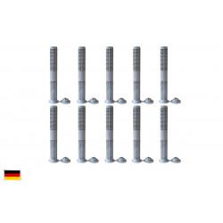 Siebhülsen 10 Siebhülse 16x130 für Bolzen, Ankerstangen ØM10 - M12 Verbundmörtel