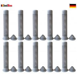 Siebhülsen 10 Siebhülse 20x85 für Bolzen, Ankerstangen ØM12 - M16 Verbundmörtel
