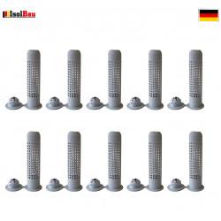 Siebhülsen 10 Siebhülse 12x50 für Bolzen, Ankerstangen ØM6 - M8 Verbundmörtel