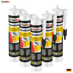 Folienkleber 5 x 450g Dichtkleber Dichtmasse Dampfbremse Dampfsperre Dampfsperrfolie