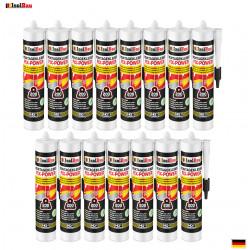 Montagekleber FIX-POWER Baukleber 8x 480g Kartusche weiß Qualität 200kg / 10cm
