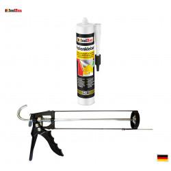 Folienkleber SET Dichtkleber 450 g + Auspresspistole Dampfbremse Dampfsperre