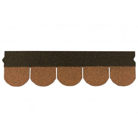 Dachschindeln Biberschindeln 1 Stk Braun Schindeln Dachpappe Bitumen
