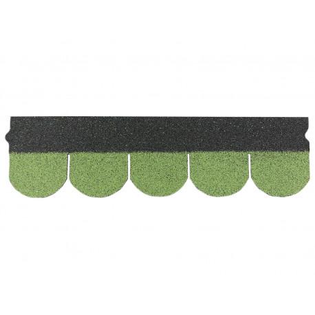 Dachschindeln Biberschindeln 1 Stk Grün Schindeln Dachpappe Bitumen