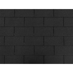 Dachschindeln 6m² Rechteck Form Schwarz  Schindeln Dachpappe Bitumen