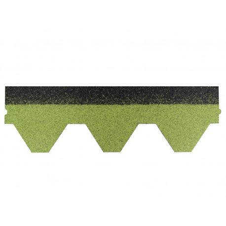 Dachschindeln Hexagonal 1 Stk Grün Schindeln Dachpappe Bitumen