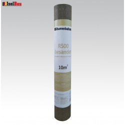 Dachpappe R 500 Besandet 10m² NEU 1 Rolle Bitumenbahn