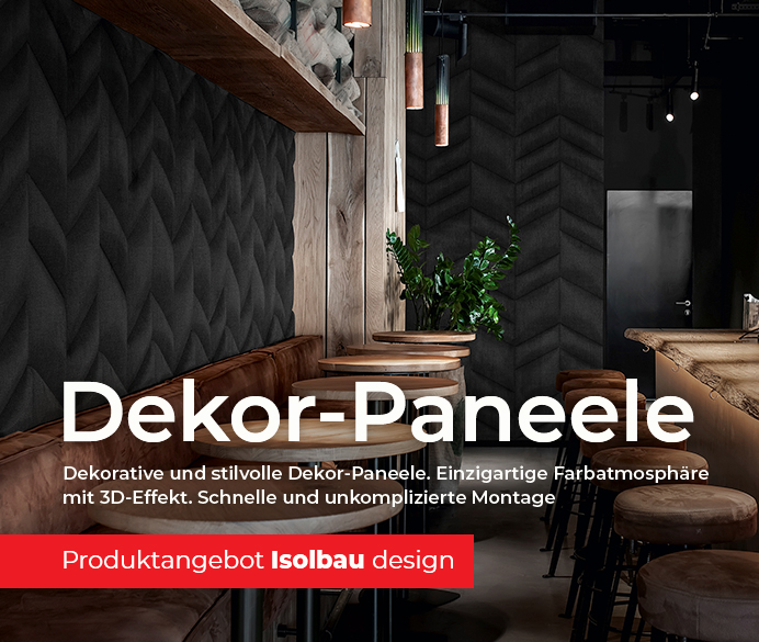 IsolBau Design SliderA