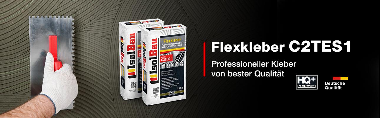 IsolBau Flexkleber C2TES1 25kg Banner C