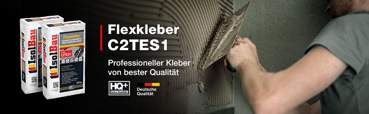 IsolBau Flexkleber C2TES1 25kg Banner A